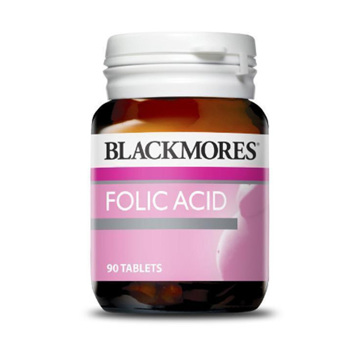 BL Folic Acid 500mcg 90tabs
