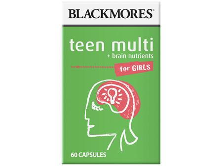 BL Multi Vit. For Teen Girls 60caps