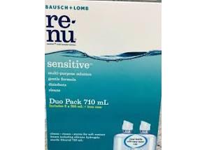 B&L Renu Sensitive Duo 2x355ml + Case