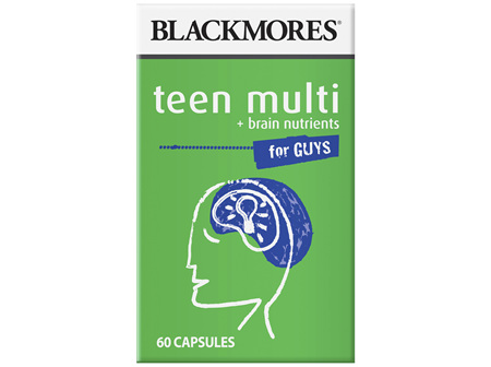 BL Teen Multi Boys 60caps
