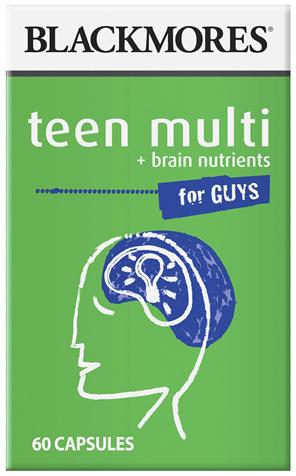 BL Teen Multi Boys 60caps