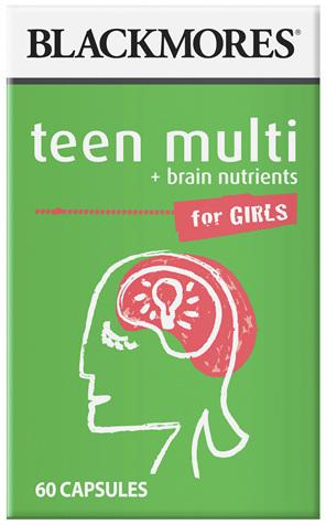 BL Teen Multi Girls 60caps
