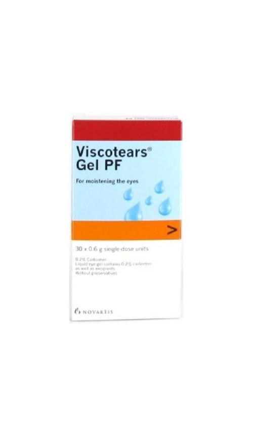 B&L Viscotears Eye Gel 0.2% 0.6ml 30s
