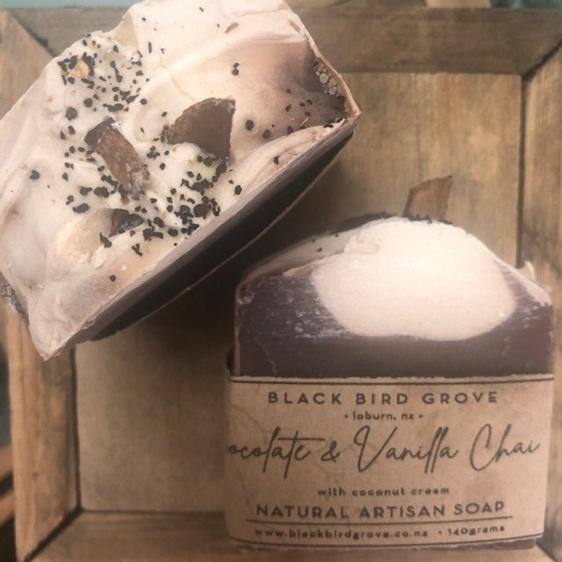 Black Bird Grove Handmade Soap