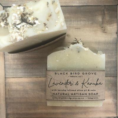 Black Bird Grove Handmade Soap - Lavender & Kanuka