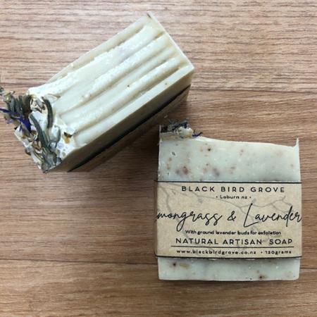 Black Bird Grove Handmade Soap - Lemongrass & Lavender