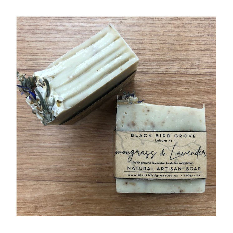 Black Bird Grove Handmade Soap - Lemongrass & Lavender
