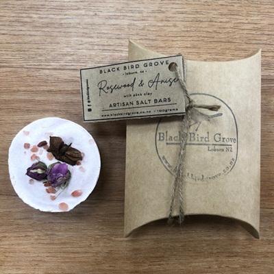 Black Bird Grove Salt Bar - Anise & Rosewood
