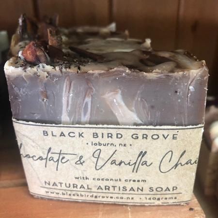 Black Bird Grove Soap - Chocolate & Vanilla Chai