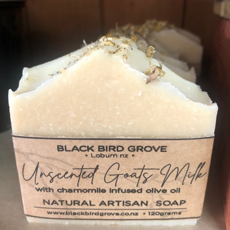 Black Bird Grove Soap - Goats Milk