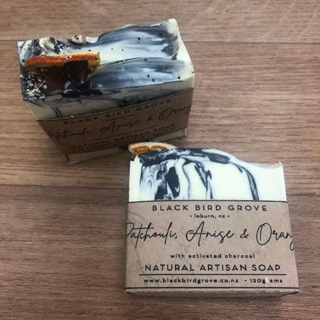 Black Bird Grove Soap - Patchouli, Anise & Orange