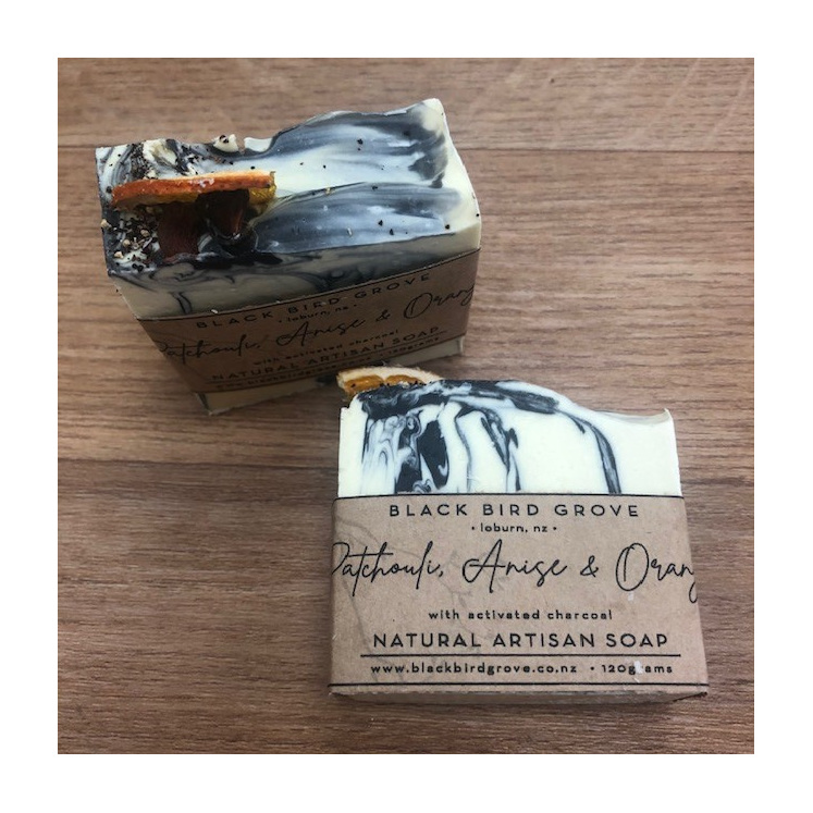 Black Bird Grove Soap - Patchouli, Anise & Orange