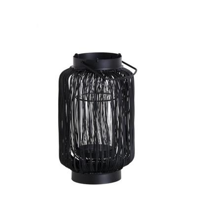 Black Wired Lantern - Small