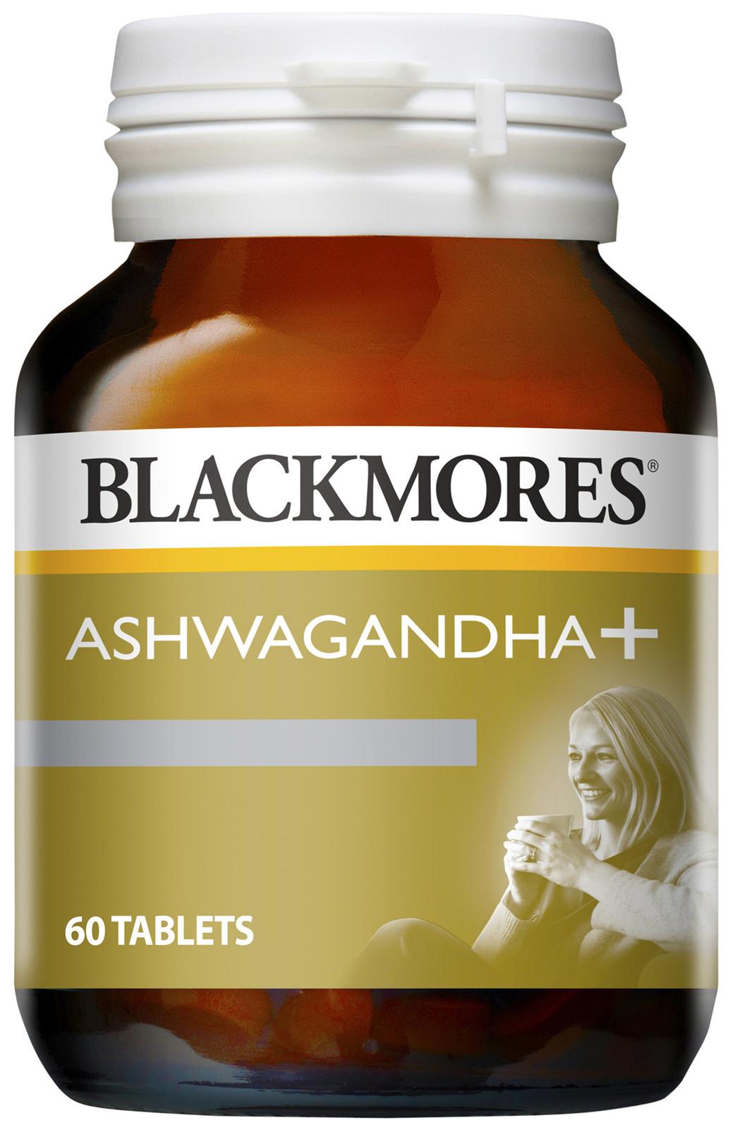 blackmores ashwagandha 60 tablets  galluzzo's chemist