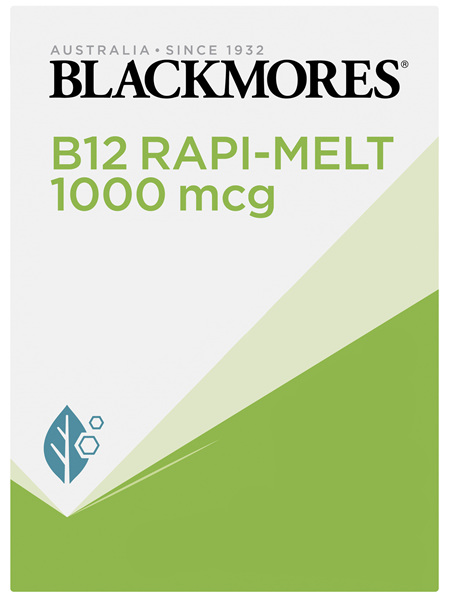 Blackmores B12 Rapi Melt 1000 mcg 60 Melts