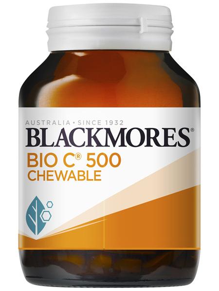 Blackmores Bio C 500 Chewable 200 Tablets