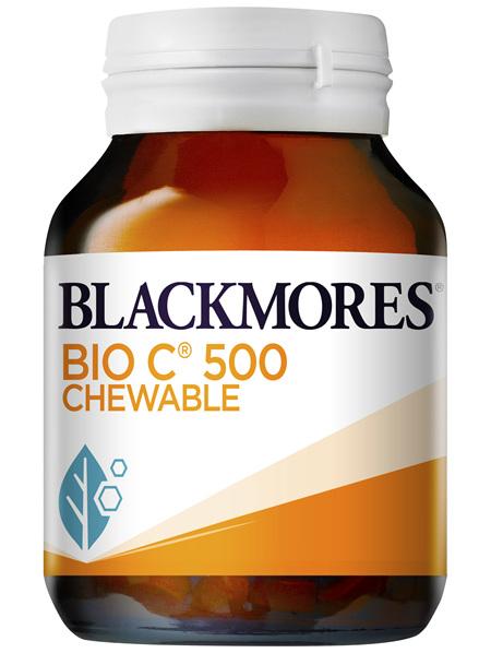 Blackmores Bio C 500 Chewable 50 Tablets
