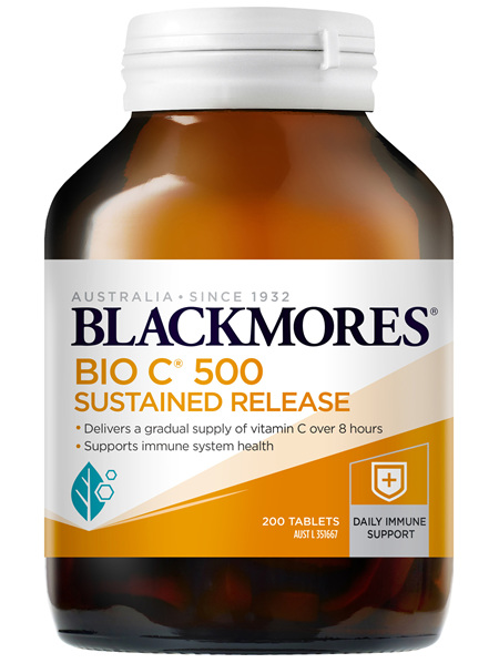 Blackmores BIO C 500 Sustained Release 200 Tablets