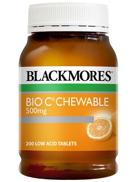 Blackmores Bio C Chewable (200)
