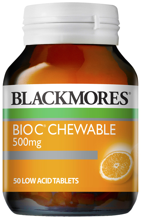 Blackmores Bio C Chewable 500mg (50)