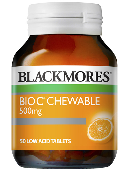 Blackmores Bio C Chewable 500mg (50)