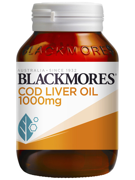 Blackmores Cod Liver Oil 1000mg (80)