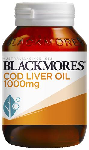 Blackmores Cod Liver Oil 1000mg (80)