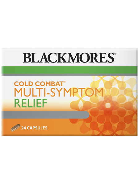 Blackmores Cold Combat Multi-Symptom Relief (24)