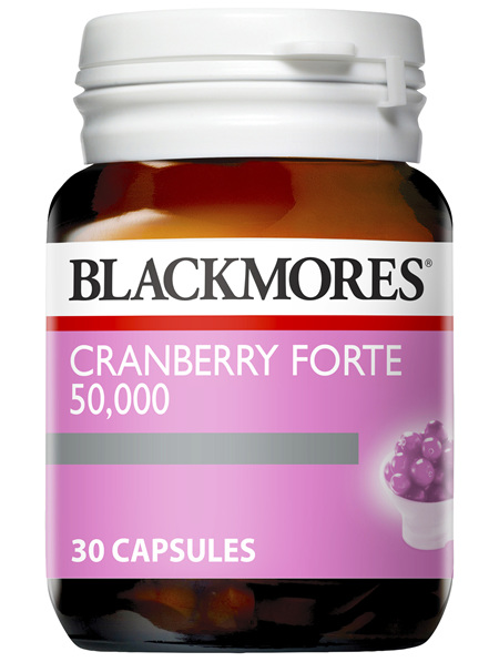 Blackmores Cranberry Forte 30 Capsules