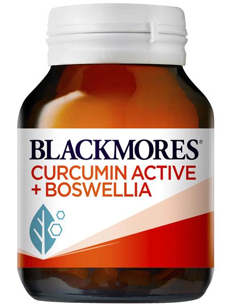 Blackmores Curcumin Active + Boswellia 60 Capsules