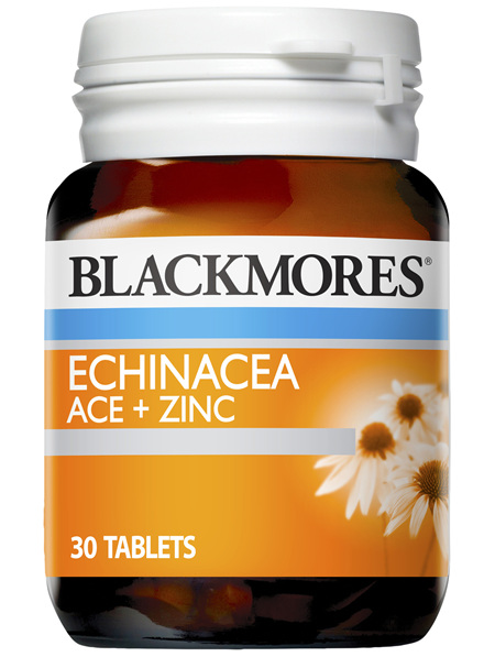 Blackmores Echinacea ACE + Zinc Tablets (30)