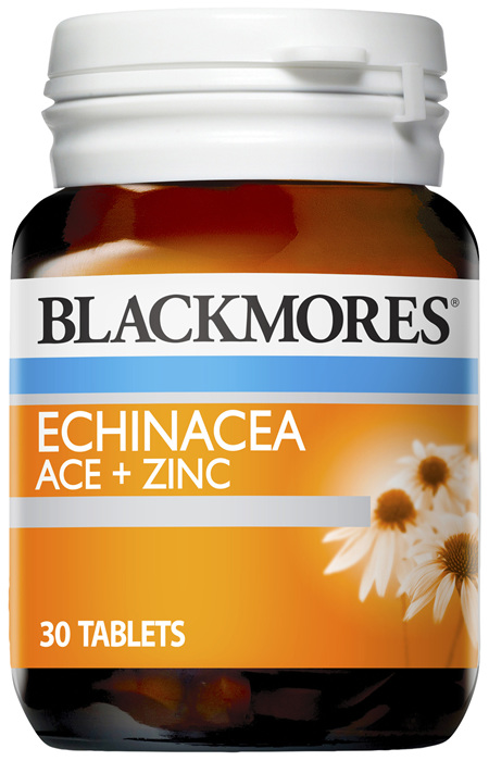 Blackmores Echinacea ACE + Zinc Tablets (30)