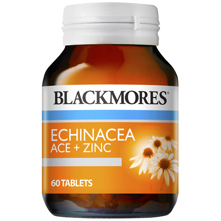Blackmores Echinacea ACE + Zinc Tablets (60)