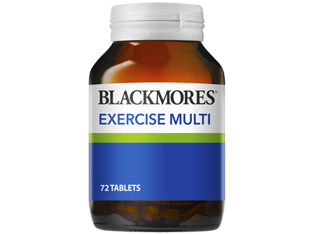 Blackmores Exercise Multi (72)