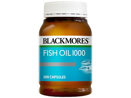 Blackmores Fish Oil 1000 200 Capsules