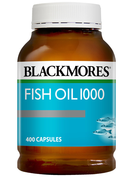 Blackmores Fish Oil 1000 400 Capsules