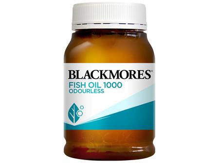 Blackmores Fish Oil 1000 Odourless 200 Capsules