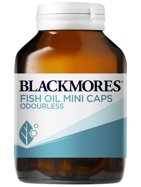 Blackmores Fish Oil Mini Caps Odourless 200 Capsules