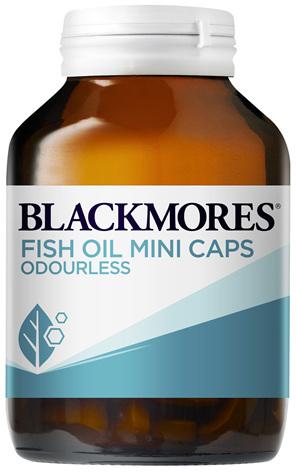 Blackmores Fish Oil Odourless Mini (200)
