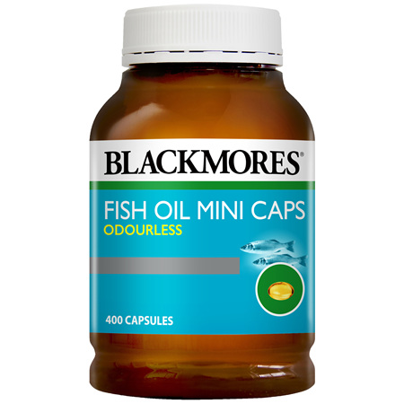 Blackmores Fish Oil Odourless Mini (400)