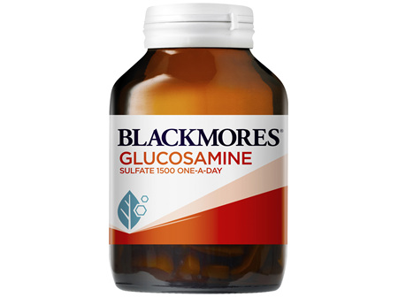 Blackmores Glucosamine Sulfate 1500 One-A-Day 90 Tablets