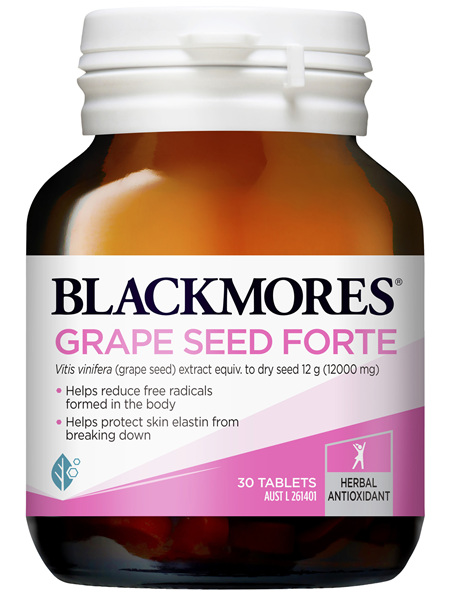 Blackmores Grape Seed Forte 30 Tablets