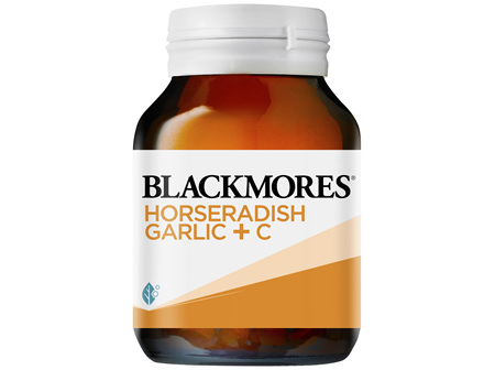 Blackmores Horseradish Garlic + C 50 Tablets