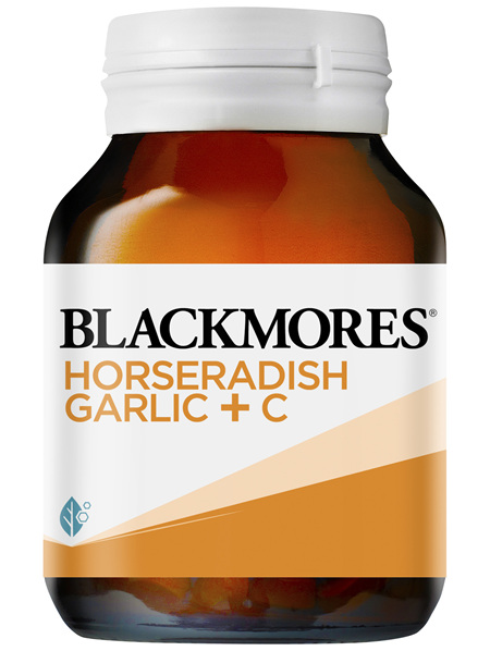 Blackmores Horseradish Garlic + C 50 Tablets