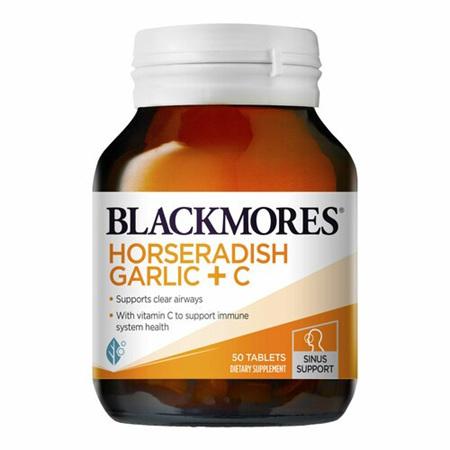 BLACKMORES Horseradish Garlic + C 50tabs