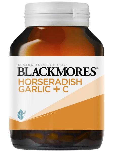 Blackmores Horseradish Garlic + C 90 Tablets
