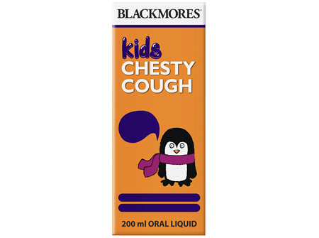 Blackmores Kids Chesty Cough (200ml)