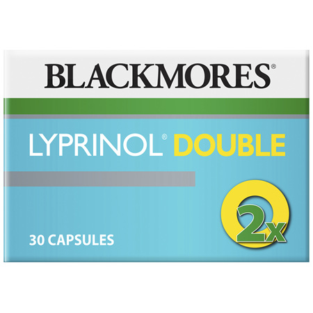 Blackmores Lyprinol Double 30 Capsules
