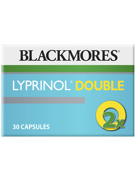 Blackmores Lyprinol Double 30 Capsules