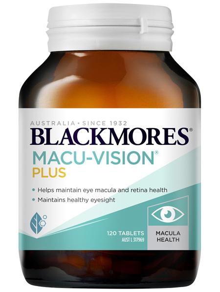 Blackmores Macu-Vision Plus 120 Tablets